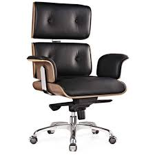 Eames Premium Leather Replica Executive <b>Office Chair</b> | Eames ...