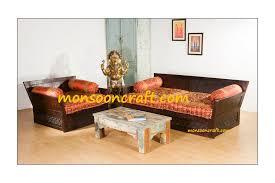 indian carved highback sofa set seating design