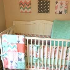 aztec baby bedding post navy crib gold mint desert sky collection