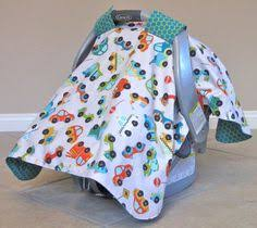 3 in 1 Car Seat Canopy Nursing Cover and Blanket Baby Boy