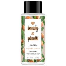 love beauty and planet purposeful hydration cleansing conditioner shea er sandalwood 13 5 oz walmart