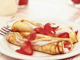Strawberry Pancake Roll ups Recipe