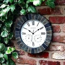 outdoor garden clocks f5477 garden wall