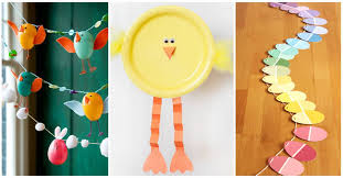 27 easy diy craft ideas for kids to get you and your family into the easter mood