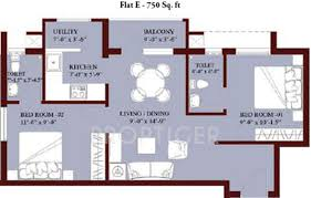 Jones Blossom Apartments (2BHK+2T (750 Sq Ft) 750 Sq Ft)