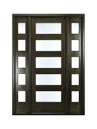 Front Doors  Cool Contemporary Solid Oak Front Door 144 Modern Solid Wood Contemporary Front Doors Uk