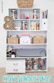 Supplies needed for these DIY storage ideas: