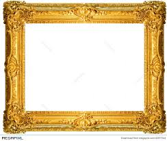 Antique Frame Stock Photo 4367044 Megapixl