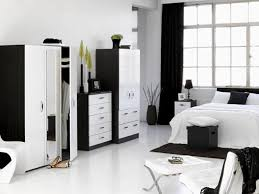 bedroom black furniture. Bedroom:Chic And Creative Black White Furniture Charming Design Designby Together With Bedroom Excellent Photograph