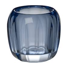 Blue Sky Tea Light Holders Coloured Delight Small Tea Light Holder Cosy Grey Villeroy