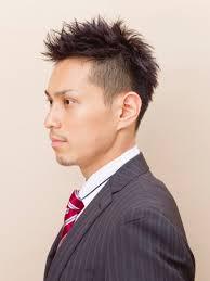 きっちり横分け男性かつら白髪入り髪型016スタイル かつらカツラ