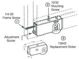 sliding door roller replacement replacing sliding glass door roller replacement lutz