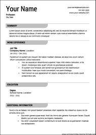professional resume template samples examples professional resume template 2016
