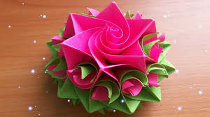 Paper Crafted Flowers Diy Handmade Crafts How To Make Amazing Paper Rose Origami Flowers
