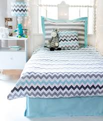 chevron bedding twin