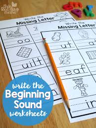 Here, you will find free phonics worksheets to assist in learning phonics rules for reading. Write The Beginning Sound Worksheets This Reading Mama