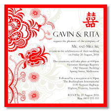 Wedding Card Template Cool Budget Wedding Invitations Template Wedding Double Happiness Red