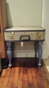 Suitcase Nightstand vintage suitcase side table fox and the fern 5137 by guidejewelry.us