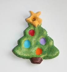 How To Make Color Salt Dough OrnamentsSalt Dough Christmas Gifts