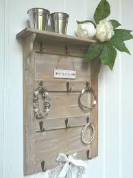 shabby chic wall mounted key hooks
