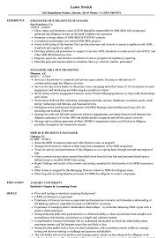 MA Resume Sample Manager Due Diligence Resume Samples Velvet Jobs 2