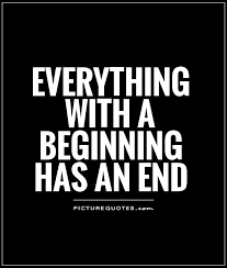 Quotes About End And Beginning 40 Quotes Beauteous End Quotes