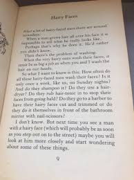 The First Page Of Roald Dahls The Twits In Honour Of