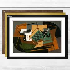 Big Box Art Chessboard and Glass by Juan Gris Framed Graphic Art |  Wayfair.co.uk