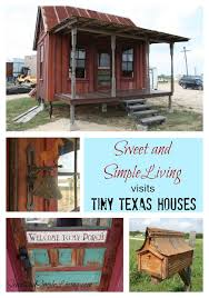 Small Picture Tiny Texas Houses Sweet and Simple Living