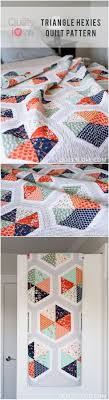 Best 25+ Modern quilt patterns ideas on Pinterest | Stripe quilt ... & Click on through to see more photos of Quilty Love's newest quilt pattern  Triangle Hexie Quilt Adamdwight.com