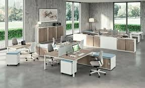 Office Furniture Interior Design Beauteous Contemporary Shared Office Desks