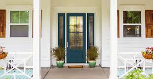refinishing your fiberglass entry door