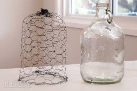 how to make an easy en wire cloche
