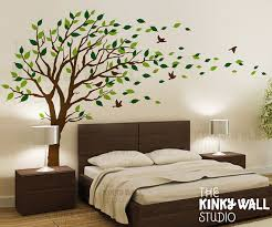 Small Picture Blowing Tree Wall Decal bedroom Wall decals wall sticker Vinyl