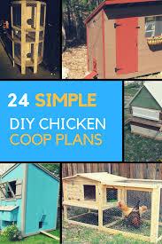 Simple Chicken Coop Design Chicken Coop Plans 24 Simple Designs You Can Build Yourself