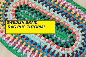 Fabric Rug Diy Pdf Tutorial Swedish Braid Rag Rug Aka Double Toothbrush Rug