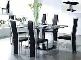 glass dining table set. Glass Kitchen Table And Chairs For Contemporary Dining Sets 93 4 Set