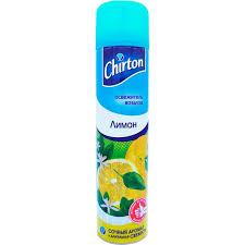 <b>Освежитель воздуха CHIRTON</b> Цитрус-<b>Лимон</b> 300мл