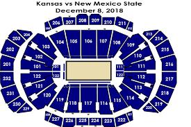 Ku Basketball Seating Chart New Mexico State Vs Kansas Sprint Center