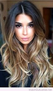 Hairstyle Ombre perfect ombre long wavy hair for winter time hairstyle 3612 by stevesalt.us