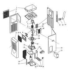 window air conditioner parts. Wonderful Air Portable Air Conditioner Parts To Window Air Conditioner Parts D