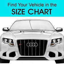 Sunshade Size Chart New Home Car