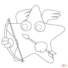 Small Picture Star Shape Coloring Page Star Coloring Pages Free Printable