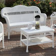 white wicker chairs casual outdoor furniture attractive 1