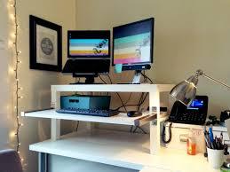 Sophisticated My Diy Stand Up Desk Ikea Hack Ciaran Mahoney Ikea Standing  Desk Hack Expedit Hostgarcia