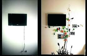 wall mounted tv cable management cords cables wires self wire cover cord cover 3 great ways