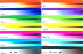 Color Test Page For Printer Printer Test Page Color Color Test Print