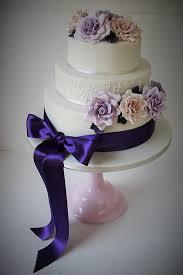Purple Wedding Cake Candys Cupcakes Candys Cupcakes