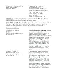 Resume Examples Military To Civilian Resume Examples For Military