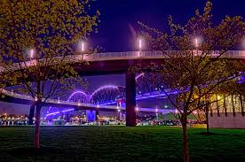Albany Lights In The Park Walk Big Four Bridge Louisville Waterfront Park
